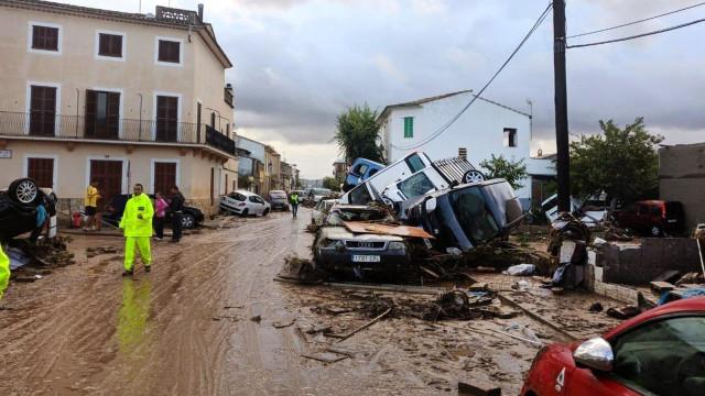 """Governo irá decidir declaração de """"zona de castástrofe"""" em Maiorca"""