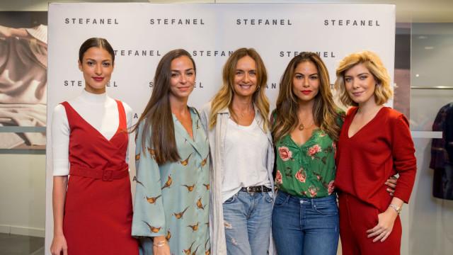 Saudar o outono com estilo: Famosas conhecem nova coleção da STEFANEL