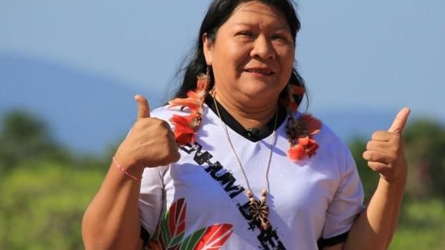 Joenia Wapichana, a primeira mulher indígena a chegar ao Congresso