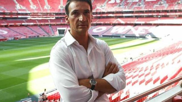 Luís Andrade está de regresso ao Benfica