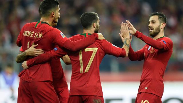 Houve sofrimento, mas trio de Silva's valeu o triunfo a Portugal