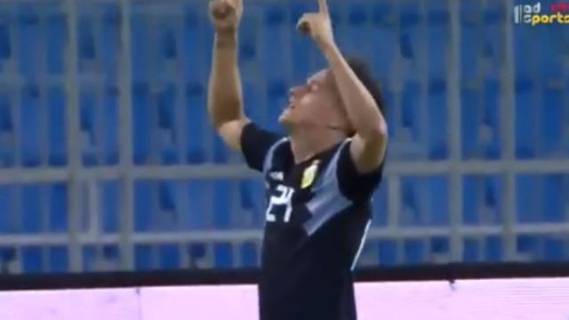 Eis o primeiro (grande) golo de Cervi pela seleção argentina