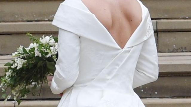 Princesa Eugenie exibiu orgulhosamente a cicatriz que tem nas costas