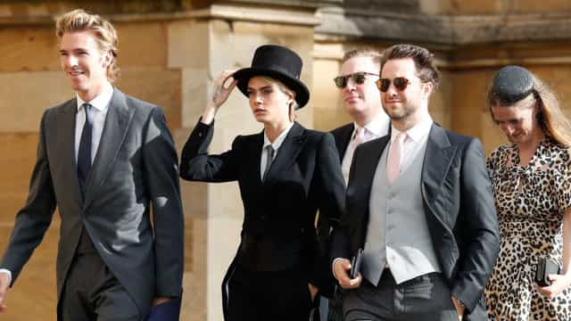 Casamento real: Cara Delevingne pediu autorização para usar look polémico