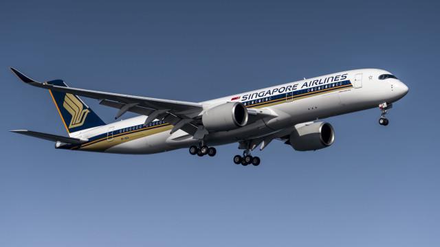 O voo mais longo mundo já aterrou em Nova Iorque vindo de Singapura
