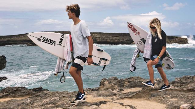 Vamos apanhar umas ondas com a Vans?