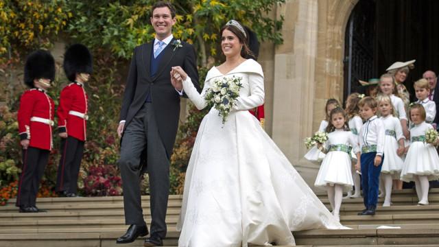 Princesa Eugenie recorda o seu casamento com fotografia nunca antes vista
