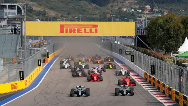 O tão esperado calendário: A Fórmula 1 vai estar nestes países em 2019