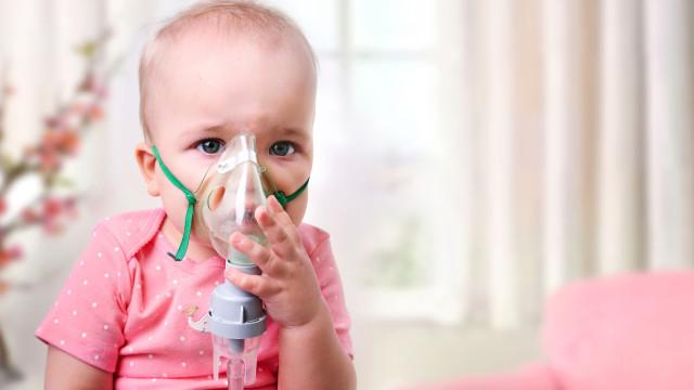 Crianças com asma estão mais propícias a este problema de saúde