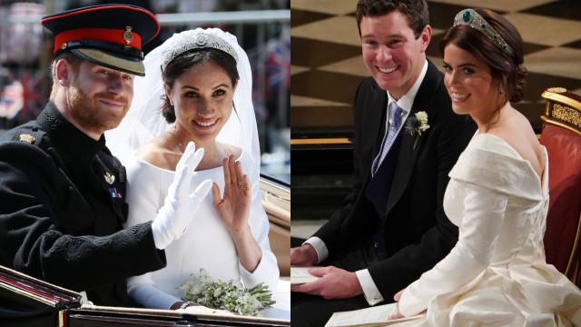 Lembranças de casamento de Harry rendem mais que as de Eugenie