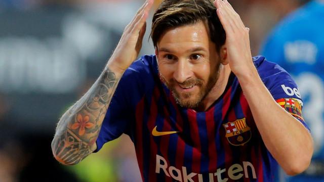 """""""Messi fora da Bola de Ouro? É um pouco estranho..."""""""