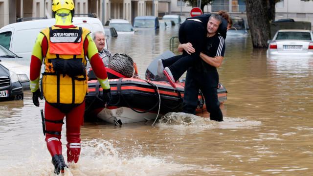 França reconhece estado de desastre natural devido a inundações