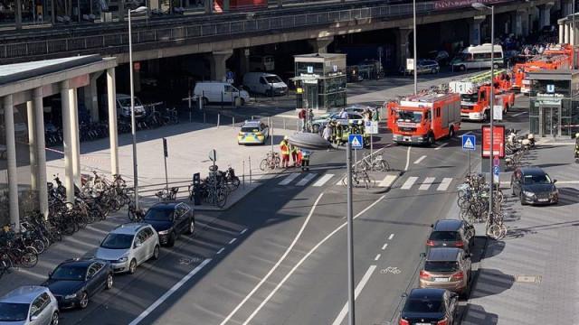Situação de reféns na estação de Colónia resolvida. Há dois feridos