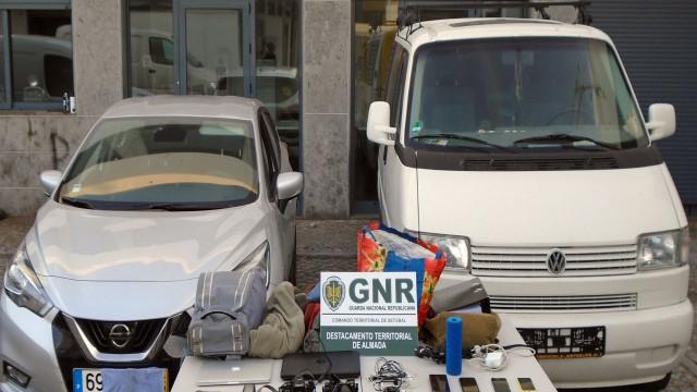 Prisão preventiva para ladrão de viaturas da Caparica