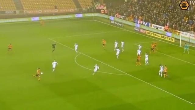 Os golaços de Rúben Neves no Wolves em três minutos