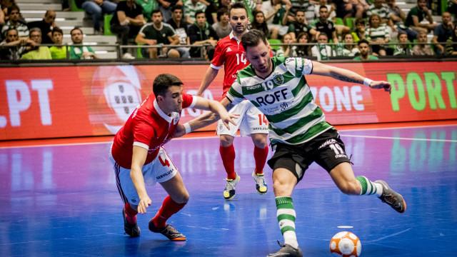 [1-1] Sporting-Benfica: Guitta evita o golo de Robinho