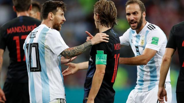 """""""Messi é um dos melhores da história, mas nunca jogarei com ele"""""""