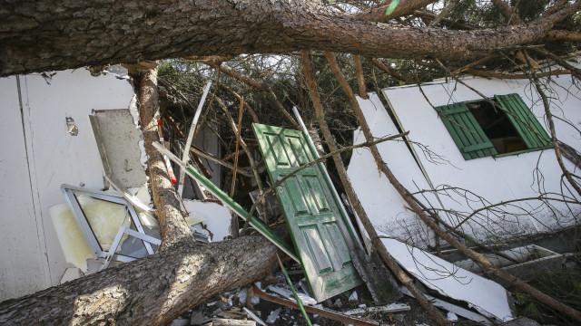Prejuízos do furacão Leslie podem ultrapassar 100 milhões de euros