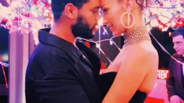 Bella Hadid 'declara-se' a The Weeknd