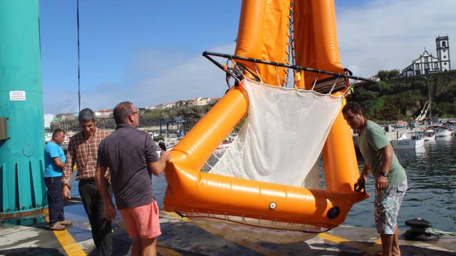 Açores testam dispositivo inovador para recolha de lixo marinho