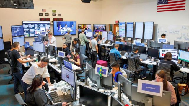 Facebook abriu as portas da sua 'sala de guerra' para vigiar eleições