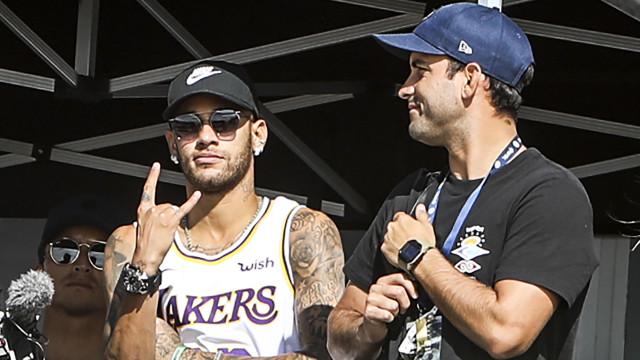 Neymar está em Portugal e Medina explica o motivo