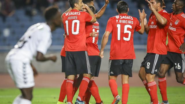 [0-3] Sertanense-Benfica: Jonas faz o terceiro das águias