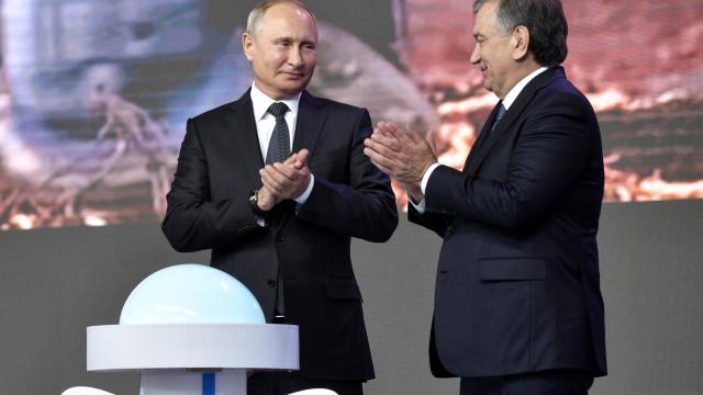 Rússia vai construir primeira central nuclear do Uzbequistão