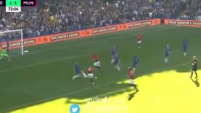 Martial aponta golaço em Stamford Bridge e completa 'remontada' do United