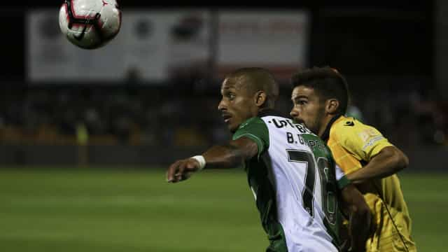 [0-1] Loures-Sporting: Intervalo