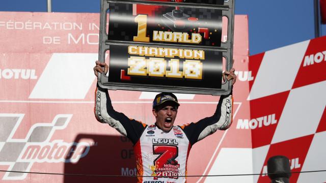 Marc Márquez vence no Japão e sagra-se pentacampeão mundial de MotoGP