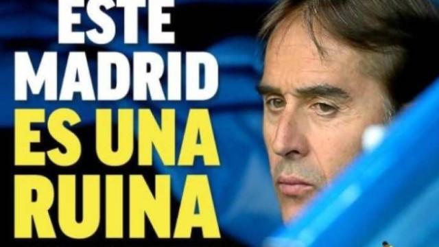 Lá fora: A ruína do Real, a dor de Messi e a guerra de Mourinho
