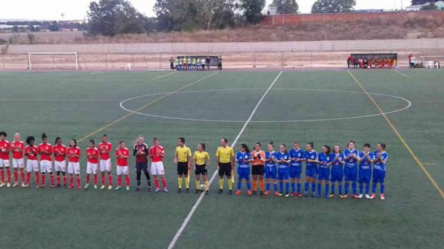 Benfica volta a aplicar mais uma goleada das antigas ao União Almeirim