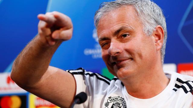 """Mourinho e a entrada secreta no balneário: """"Fui no cesto da roupa"""""""