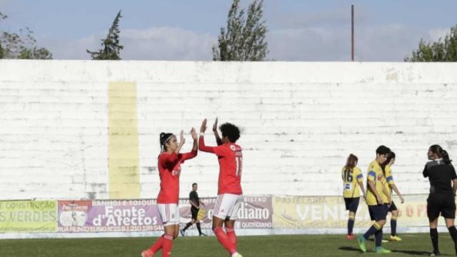 BBC destaca equipa feminina do Benfica: 85 golos marcados em 4 jogos
