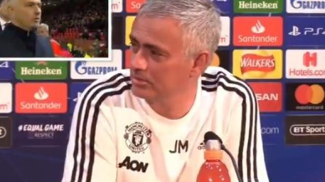 """""""A última vez que falei português..."""", a divertida frase de Mourinho"""