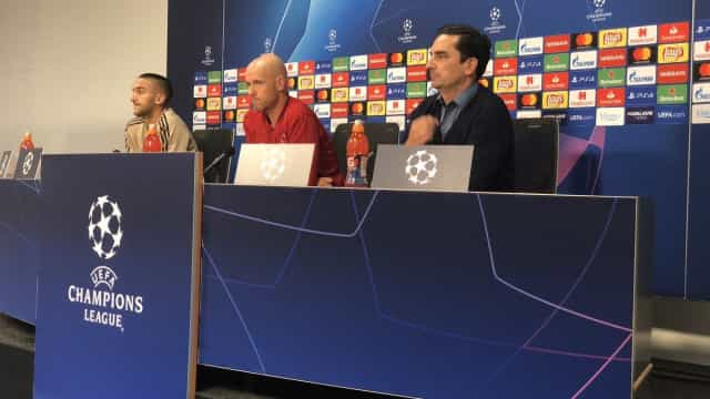 "Ten Hag elogia Benfica mas deixa aviso: ""Se estivermos num bom dia..."""
