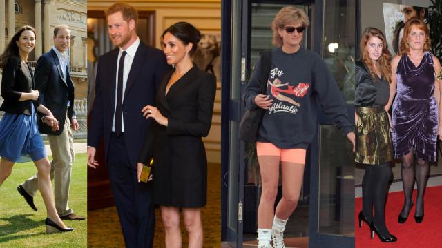 Pernas da realeza: As princesas e duquesas que já usaram saias curtas