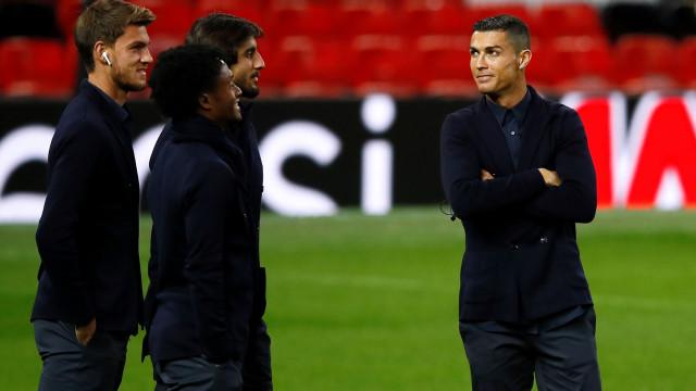 As primeiras imagens de Cristiano Ronaldo de volta a 'casa'