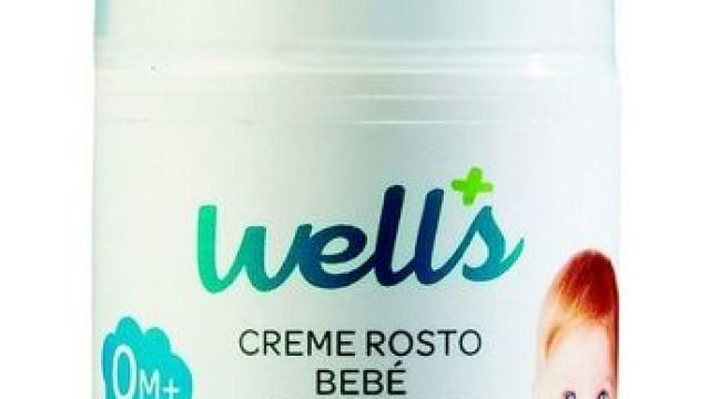 Creme de bebé da Wells retirado do mercado por erros na rotulagem