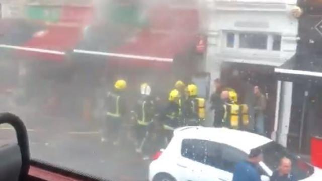 Incêndio destrói restaurante português em Londres