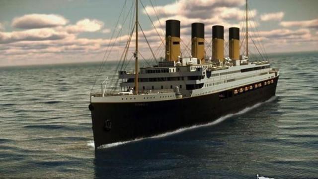 Titanic II chega aos mares em 2022. E vai fazer viagem original