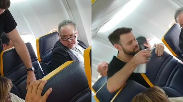 Homem que insultou idosa negra em voo da Ryanair diz que não é racista