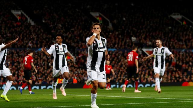 Dybala garante triunfo da Juventus em Old Trafford