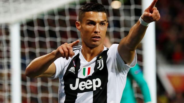 Golos: CR7 persegue recorde luso em lista liderada por Rui Costa