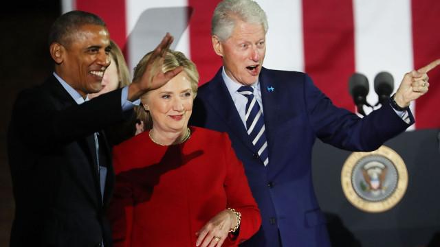 Encontrada bomba em casa dos Clinton. Enviado explosivo para Obama também