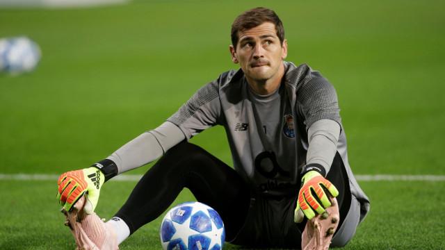 """Casillas """"feliz"""" no Dragão: """"É o local a que agora chamo casa"""""""