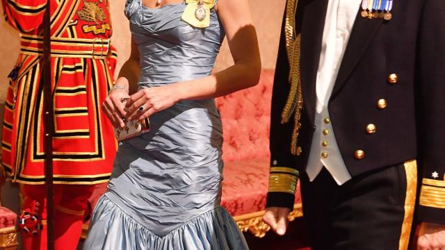 Porque é que este alfinete de peito é tão importante para Kate Middleton?