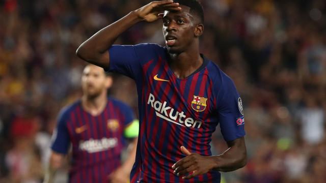 Barcelona convocou agente de Dembélé para reunião de crise