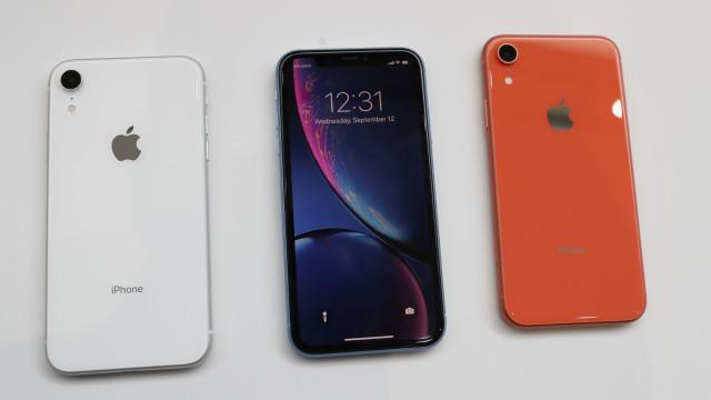 O iPhone XR já chegou. Veja as fotografias do novo smartphone da Apple